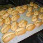 Fertige Brötchen aus dem Ofen