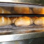 Brot fertig im Backofen