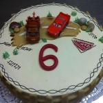 Fetsttagstorte Car Nr. T18