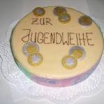 Festtagstorte Jugendweihe Nr.T4