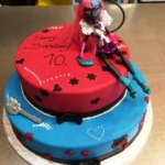 Geburtstagstorte Monster High G55