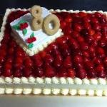 Geburtstagstorte Erdbeer80 Nr. G34
