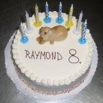 Geburtstagstorte kleiner Hund Nr.G19