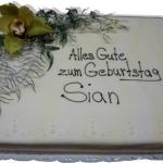 Geburtstagstorte Blumenzauber Nr.G22