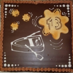 Geburtstagstorte Ruderkahn Nr.G25