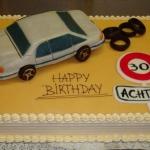 Geburtstagstorte Audi A100 Nr.G26