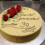 Geburtstagstort 90er Nr. G35
