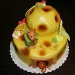 Geburtstagstorte das Mäuse Haus Nr. T6