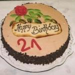 Geburtstagstorte Happy Birthday Nr.G13
