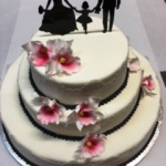 Hochzeitstorte Silhouette H48