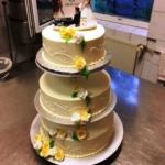 Hochzeitstorte Elegant H50