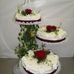 Hochzeitstorte Rose Nr.H13